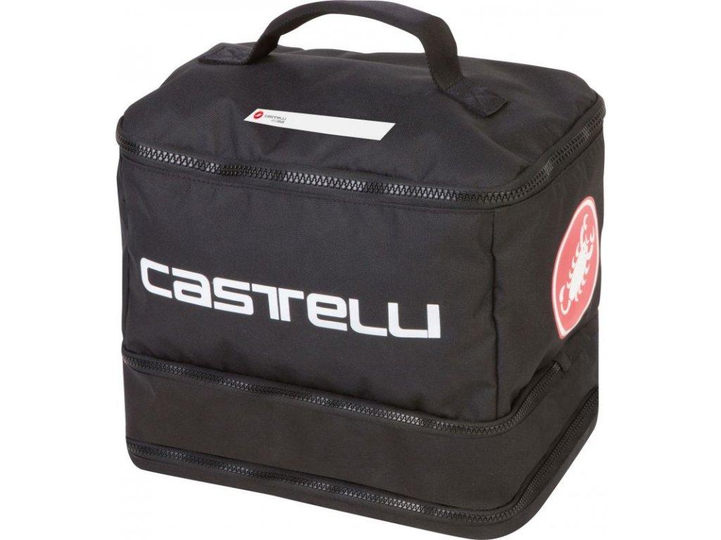 Cestovná taška Castelli Race Rain Bag (Farba Bielo-čiena)