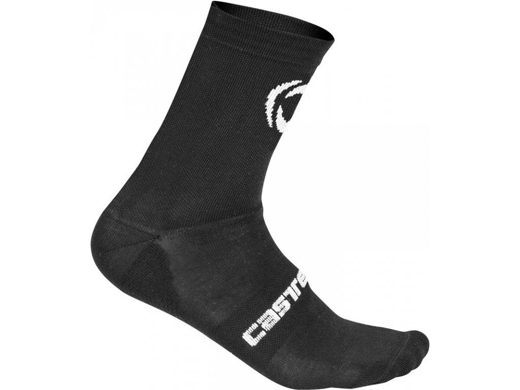 Ponožky Castelli Ineos PRO TEAM COLD WEATHER 15 (Farba Castelli-Ineos-COLD-WEATHER-15-čierna, Veľkosť XXL)