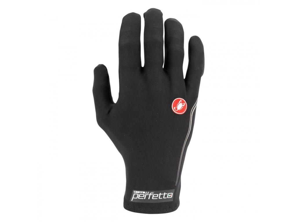 Jesenné rukavice Castelli Perfetto (Farba Castelli-Perfetto-jesenne-Light black, Veľkosť XXL)