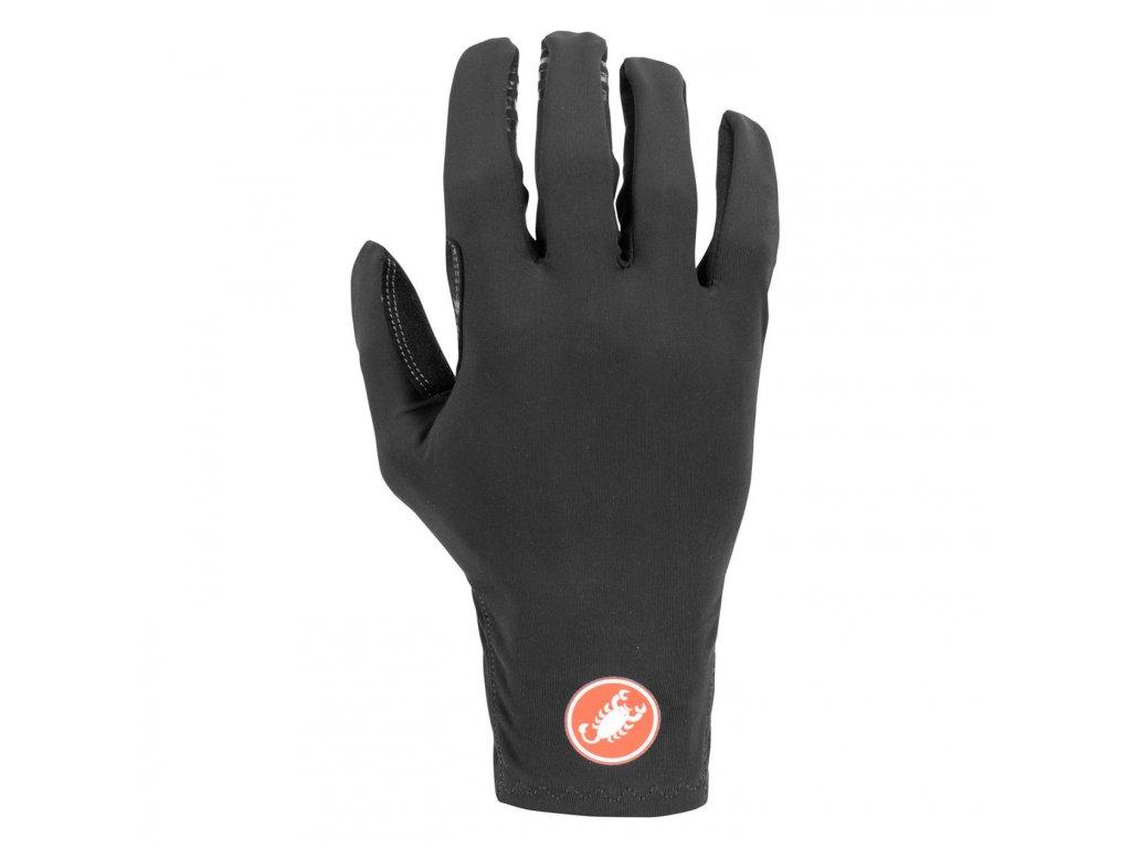 Jesenné rukavice Castelli Lightness Due (Farba Castelli-Lightness-Due-jesenne-Čierna, Veľkosť XXL)