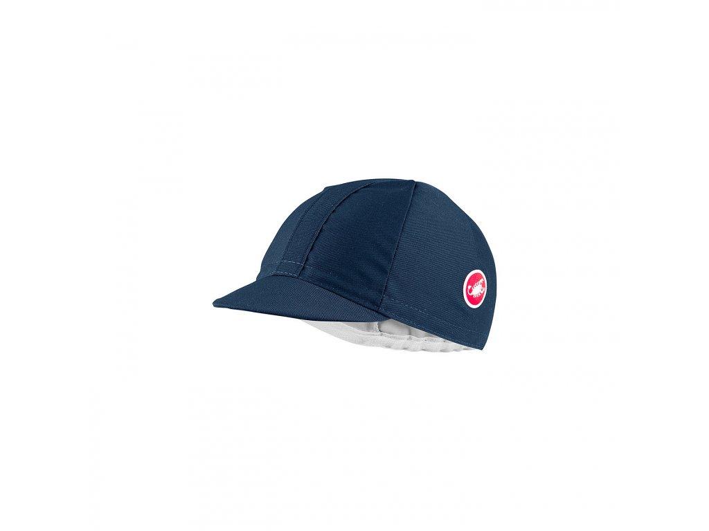 Cyklo šiltovka Castelli Italia 20 (Farba Castelli-Italia-20-ciapka-Dark infinity blueModrá, Veľkosť UNI)