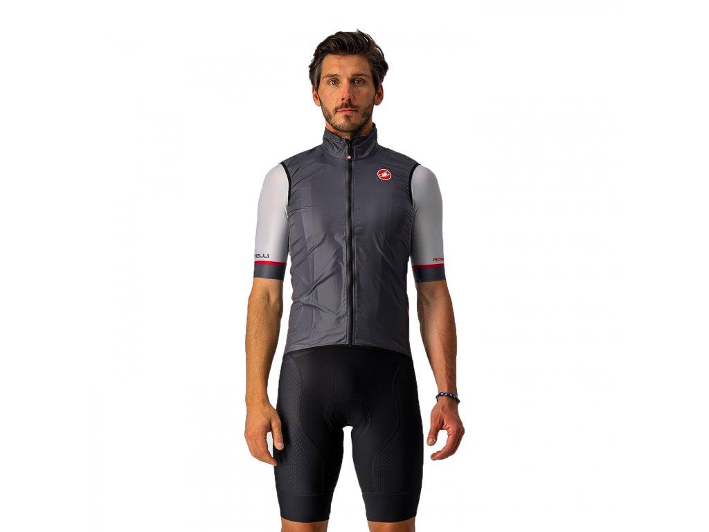 Cyklo vesta Castelli ARIA (Farba Castelli-ARIA-tmavá-šedá, Veľkosť 3XL)