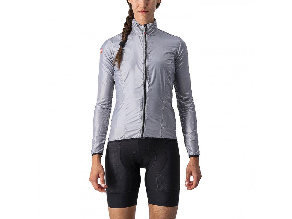 Extra ľahká cyklo bundička Castelli ARIA SHELL W (Farba Castelli-ARIA-SHELL-W-tmavá-šedá, Veľkosť XL)