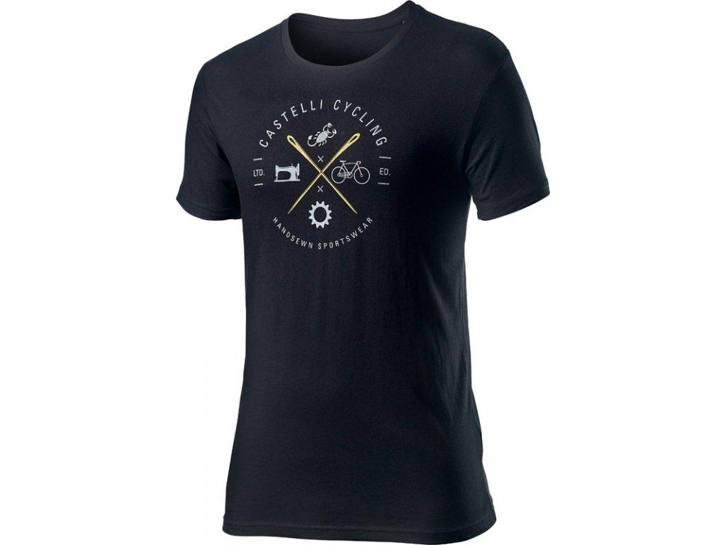 Tričko Castelli SARTO TEE (Farba Castelli-SARTO-TEE-čierna, Veľkosť XXL)