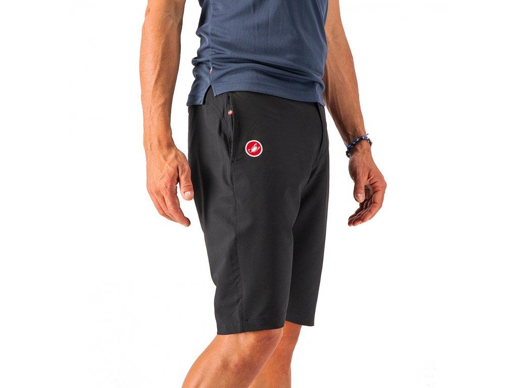 Krátke nohavice Castelli MILANO (Farba Castelli-MILANO-čierna, Veľkosť 3XL)