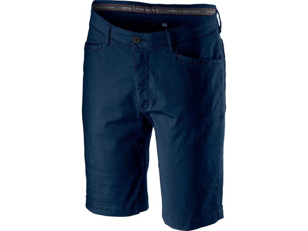 Pánske krátke nohavice Castelli VG 5 POCKET (Farba Castelli-VG-5-POCKET-tmavá-infinity-modrá, Veľkosť 3XL)