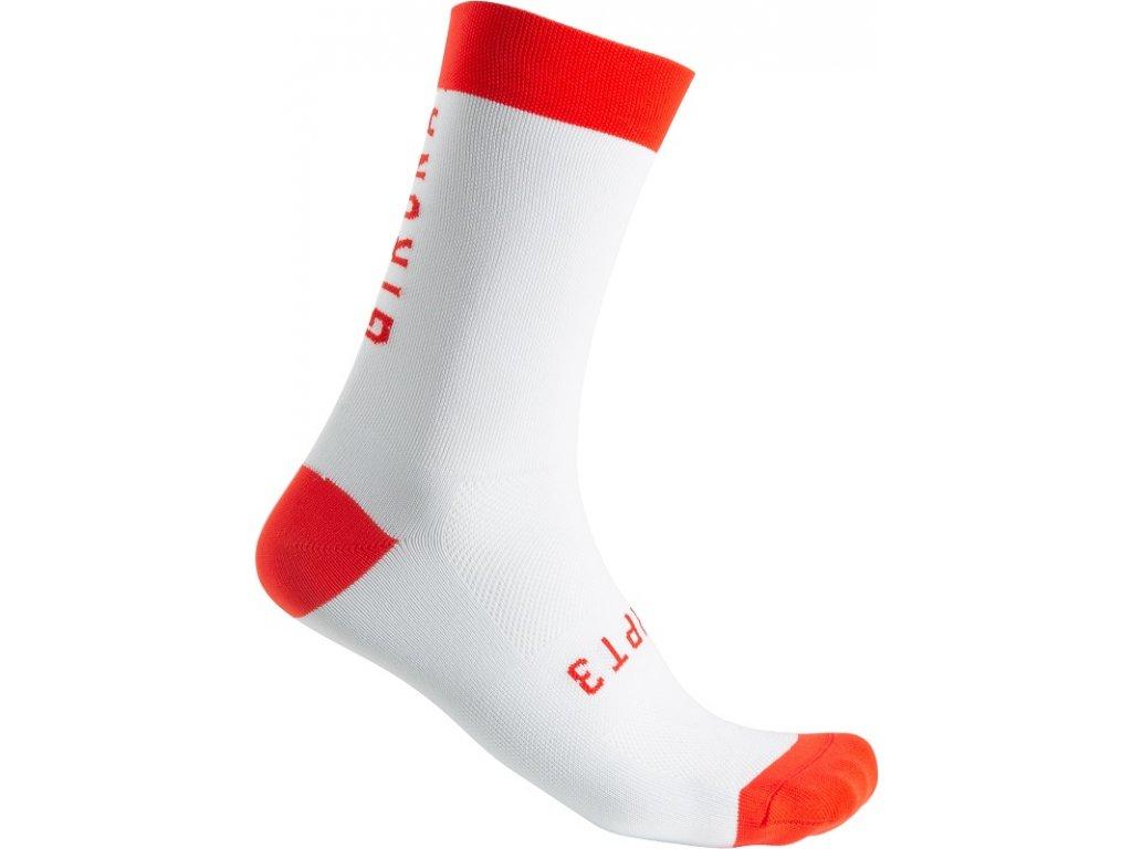 Ponožky CHPT3 Girona S2N 18 (Farba CHPT3-Girona-S2N-18-biela-červená, Veľkosť XXL)