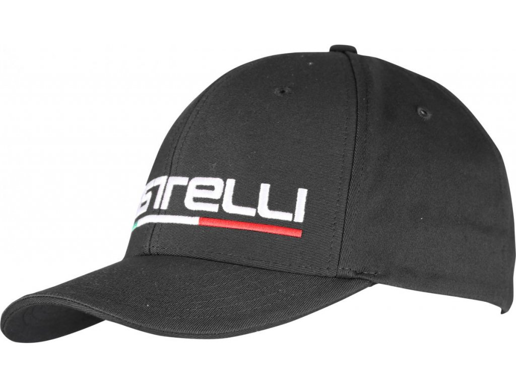 Castelli CLASSIC CAP (Farba Castelli-Classic-čierna, Veľkosť UNI)