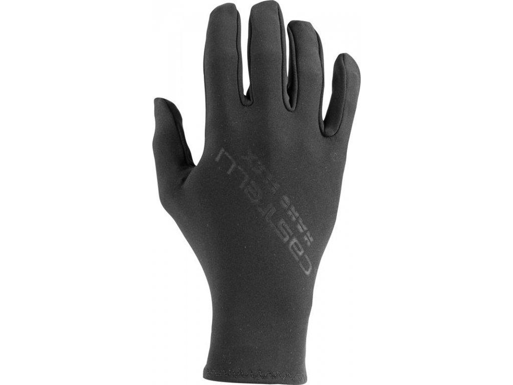 Castelli TUTTO NANO (Farba CST-Tutto-Nano-Glove-010 čierna, Veľkosť XXL)