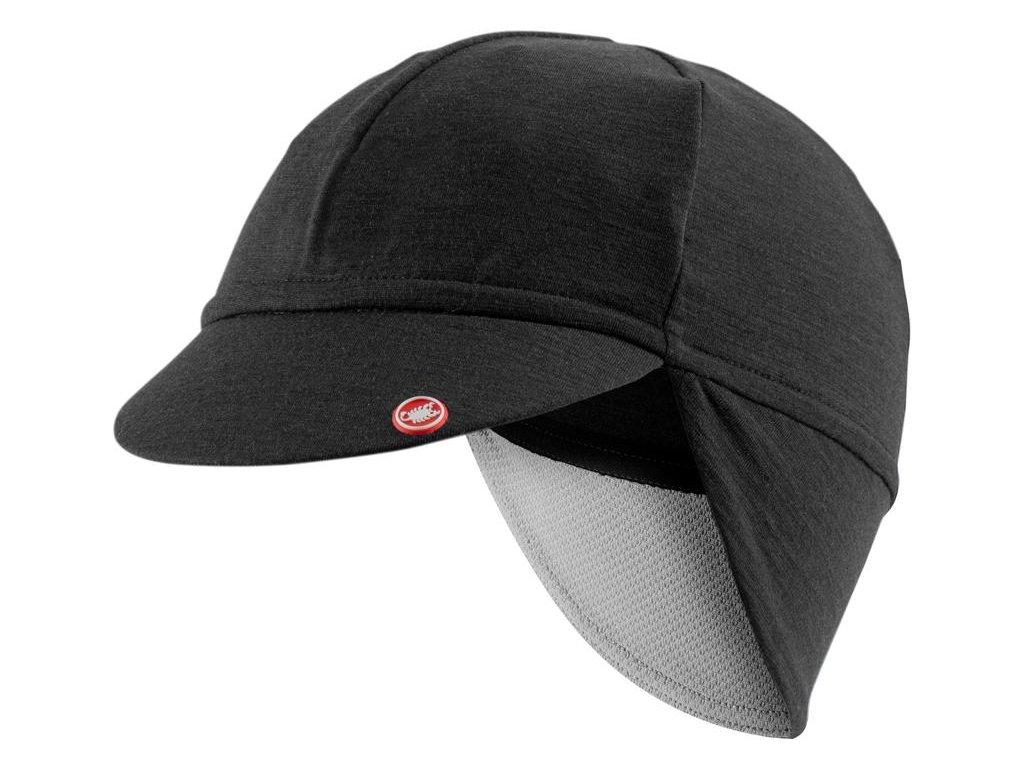Castelli BANDITO CAP (Farba CST-Bandito-cap-085  svetlá čierna, Veľkosť UNI)