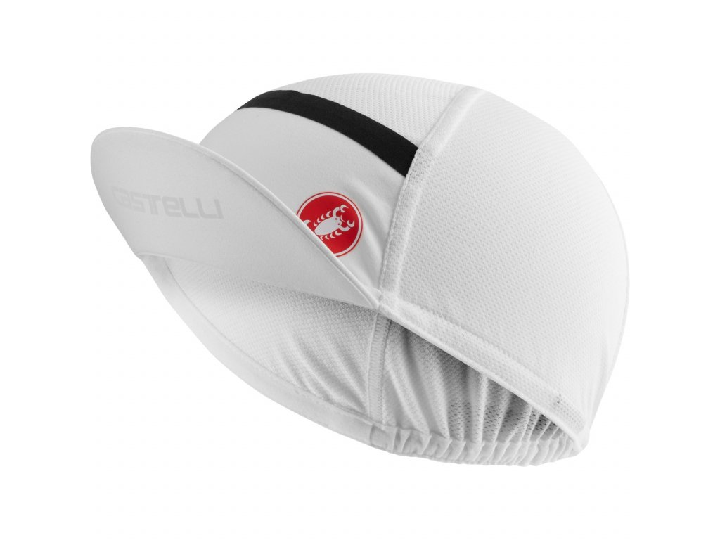 castelli 4521034 001 ombra cycling cap white 2 929515