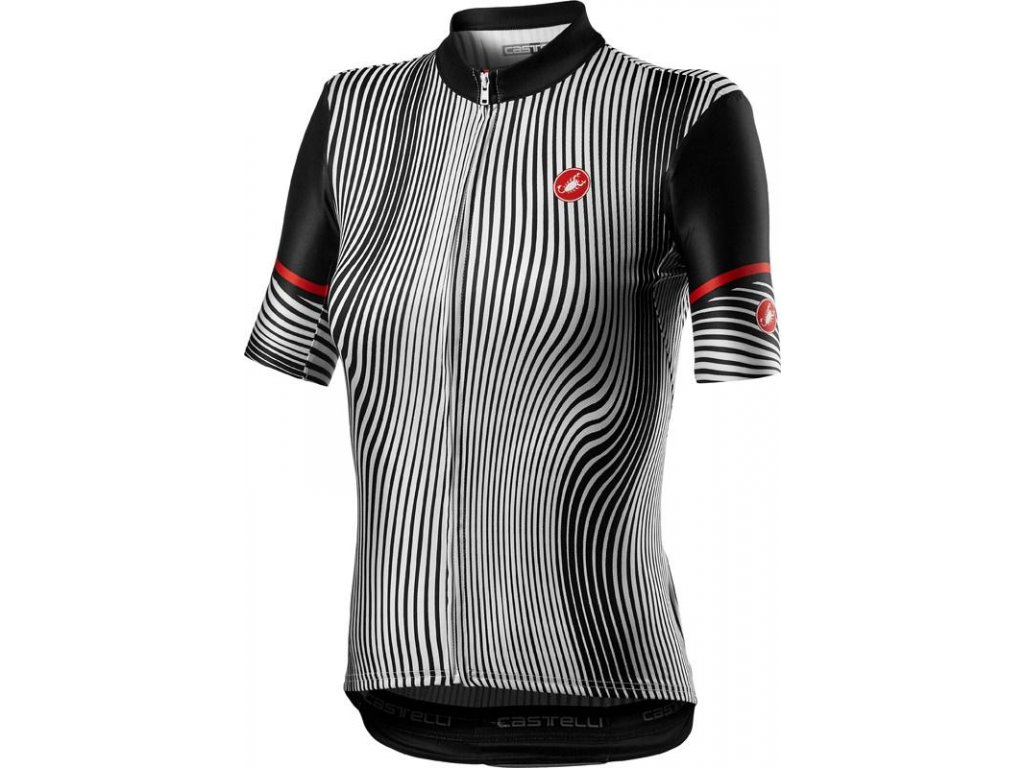 Castelli Illusione W (Farba CST-Illusione-dres-W-101-čierna/biela, Veľkosť XS)