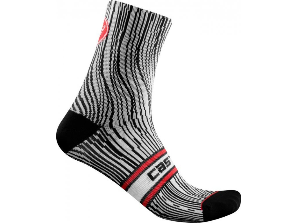 Castelli Illusione W (Farba CST-Ullusione-W-ponozky-101-čierna/biela, Veľkosť 35 - 38)