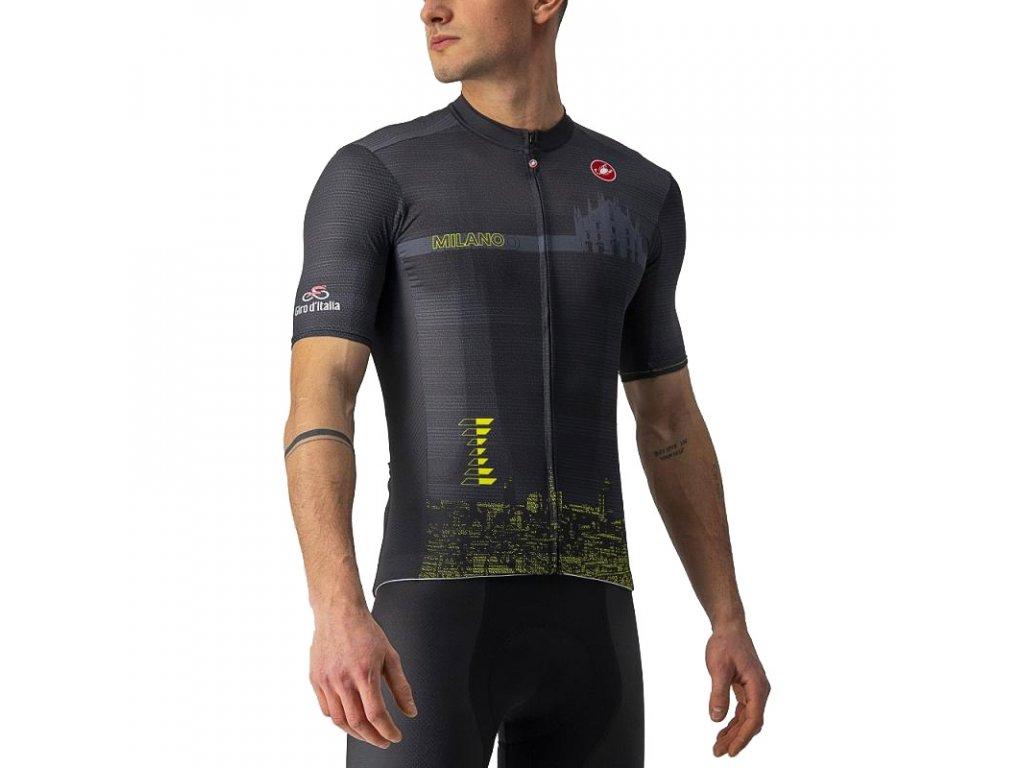 Castelli Giro Milano TT (Farba CST_MILANO_TT_085-čierna svetlá, Veľkosť XXL)