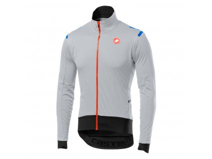 Ľahká bunda Castelli Alpha RoS Light (Farba Castelli -Alpha-RoS-Light-Šedo-čierna, Veľkosť XXL)