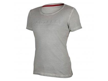 Dámske tričko Castelli Bassorilievo W (Farba Castelli-Bassorilievo-W-tričko-Tyrkysová, Veľkosť XS)