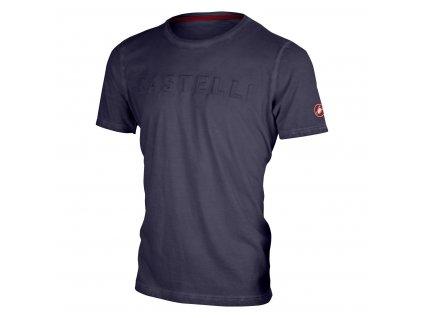 Pánske tričko Castelli Bassorilievo (Farba Castelli-Bassorilievo-tricko-Červená, Veľkosť XXL)