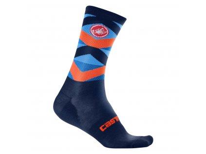 Zimné ponožky Castelli Fatto 12 (Farba Castelli-Fatto-12-Čierna, Veľkosť XXL)
