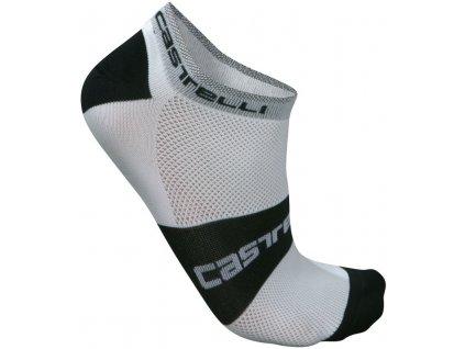 Nízke ponožky Castelli Lowboy (Farba Castelli-Lowboy-Čierno-biele, Veľkosť XXL)
