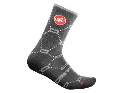 Dámske zimné ponožky Castelli Doppio C 15 (Farba Castelli-Doppio-C-15-Brillant pink, Veľkosť S/M)