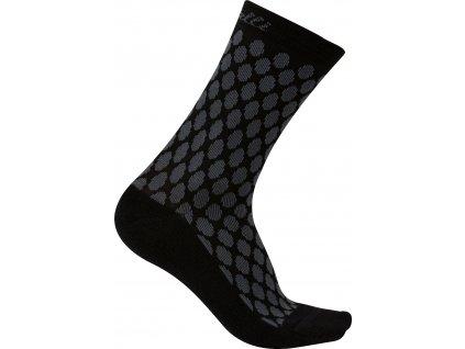 Dámske zimné ponožky Castelli Sfida 13 (Farba Castelli-Sfida-13-antracit-čierna, Veľkosť S/M)