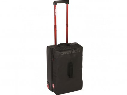 Cestovný kufor Castelli Rolling Travel Bag s kolieskami (Farba Bielo-čiena)