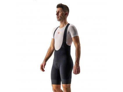 Krátke, zateplené nohavice Castelli Tutto Nano (Farba Castelli-Tutto-Nano-kratke-Čierna, Veľkosť XXL)