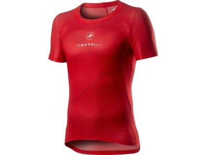 Funkčná bielizeň Castelli PRO MESH (Farba Castelli-PRO-MESH-červená, Veľkosť XXL)