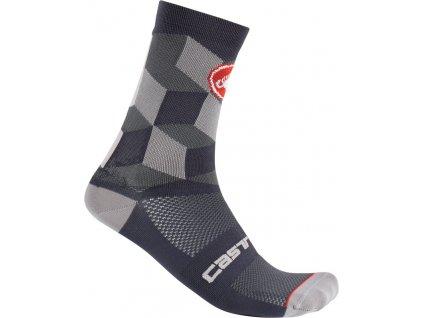 Ponožky Castelli UNLIMITED 15  (Farba Castelli-UNLIMITED-15--tmavá-šedá, Veľkosť XXL)