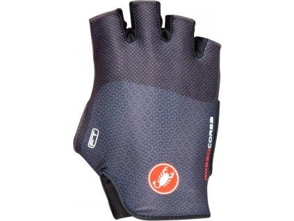 Dámske cyklo rukavice Castelli Rosso Corsa Free (Farba Castelli-Rosso-Corsa-Free-tmavá-oceľovo-modrá, Veľkosť XL)