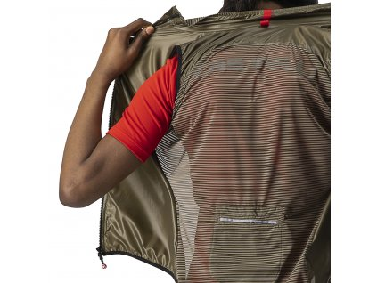 Extra ľahká cyklo vesta Castelli ARIA W  (Farba Castelli-ARIA-W--tmavá-šedá, Veľkosť XL)