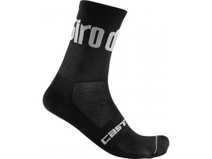 Ponožky Castelli Giro 13 (Farba Castelli-Giro-13-čierna, Veľkosť XXL)
