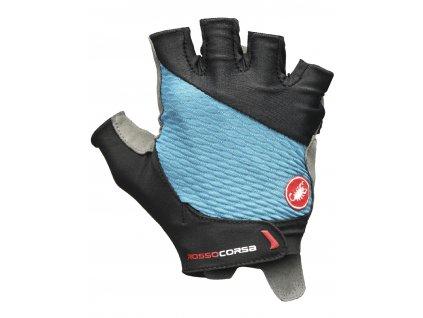 Castelli Rosso Corsa 2 W (Farba CST-Rosso-Corsa-rukavice-420 morská modrá, Veľkosť XS)