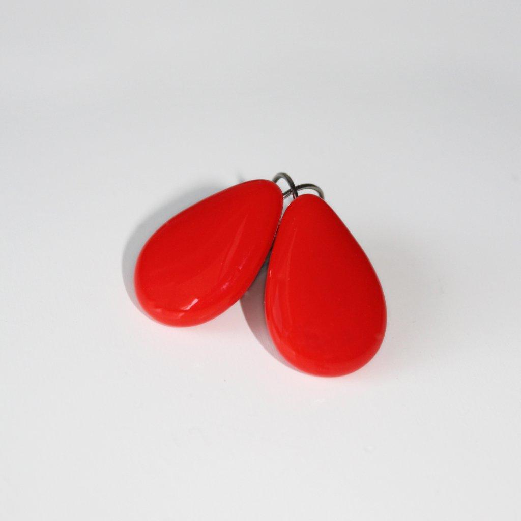 Kapky červené