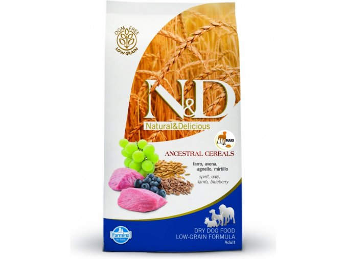 ND LG Dog Adult maxi Lamb and Blueberry