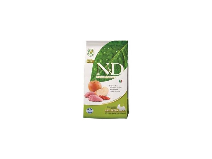 N&D Grain Free DOG Adult Mini Boar & Apple granule