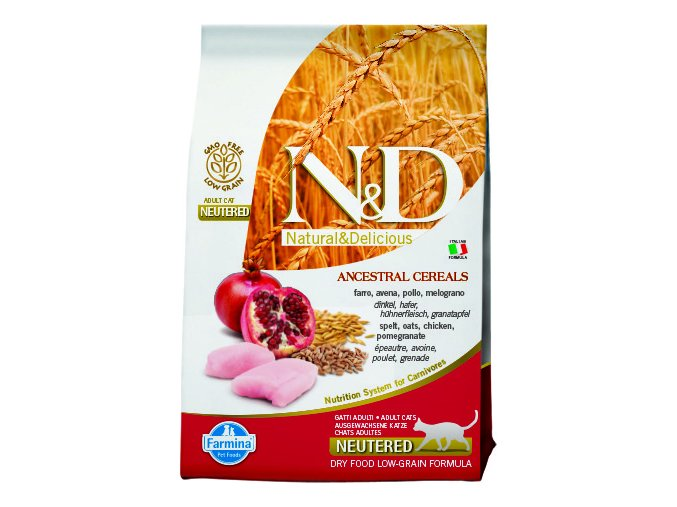 ND LG Cat Neutered Chicken and Pomegranate