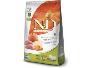 N&D Grain Free Pumpkin DOG Adult Mini Boar & Apple granule