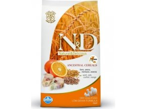 ND LG Dog Adult mini Codfish and Orange 2