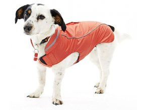 Kruuse dog raincoat jahoda
