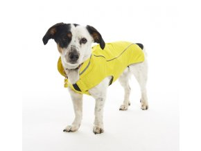 Kruuse dog raincoat citron