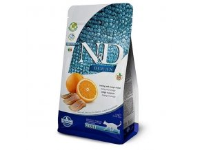 N&D OCEAN CAT Adult Herring & Orange