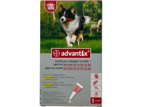 Advantix Spot On 1x2,5ml pro psy 10 20kg