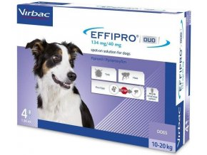 Effipro DUO Dog M (10 20kg) 13440 mg, 4x1,34ml