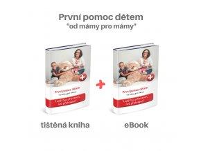 Kniha + E-book První pomoc dětem