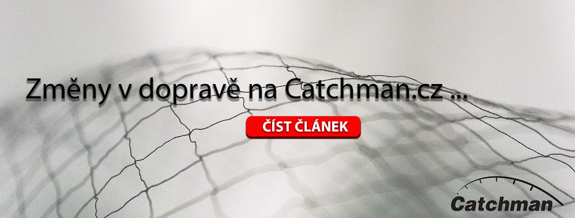 Změny v dopravě na Catchman.cz