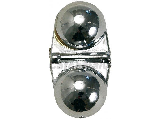 011098 zvuková chrastítka stříbrné