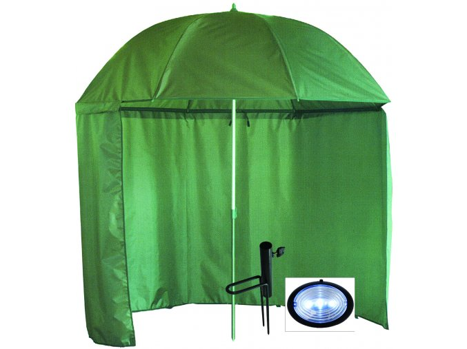 000443 deštník s bočnicí držákem sv