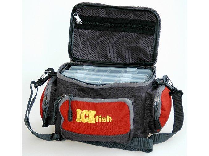 taška s boxy Ice fish