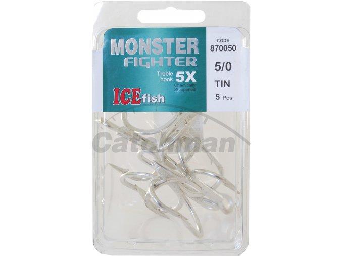870050 trojháček ice fish TIN balení